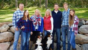 Dr. Anderson's Family