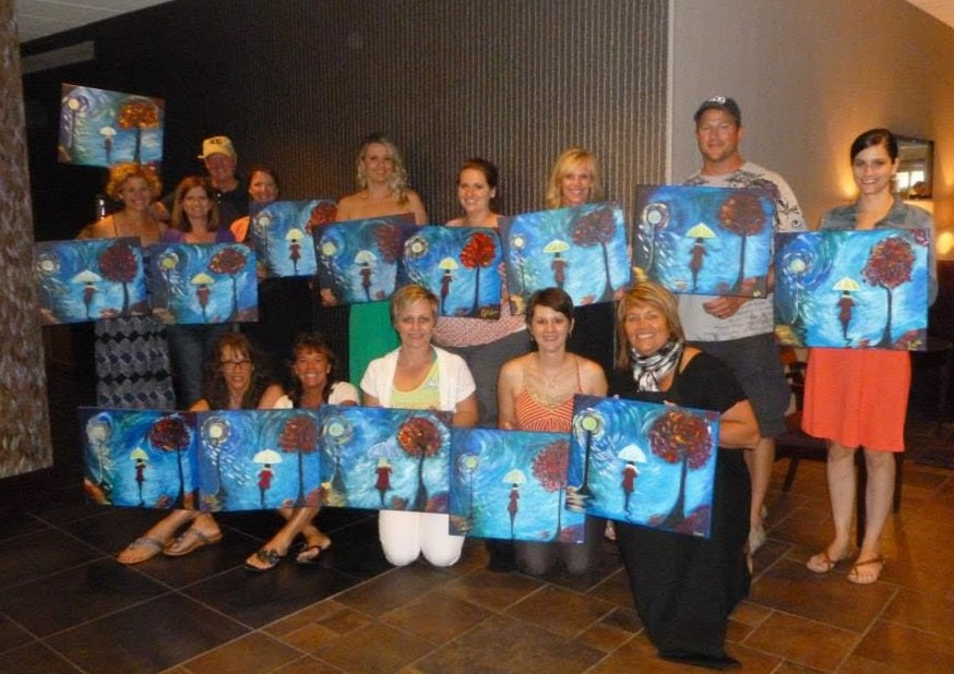ADG Outing Wine & Canvas
