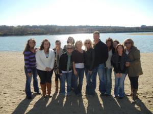 At Gray's Lake